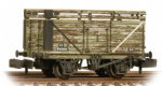 377-207 Graham Farish 8 Plank Wagon with Coke Rails BR Refurbished (P Number)